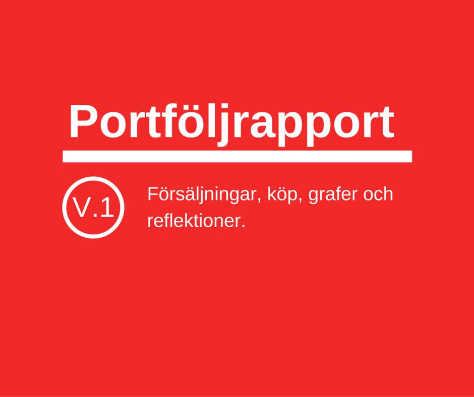 Portföljrapport v1