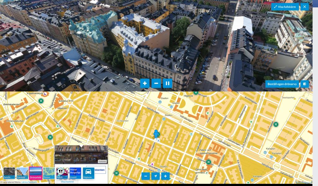 Exempel från Hitta.se