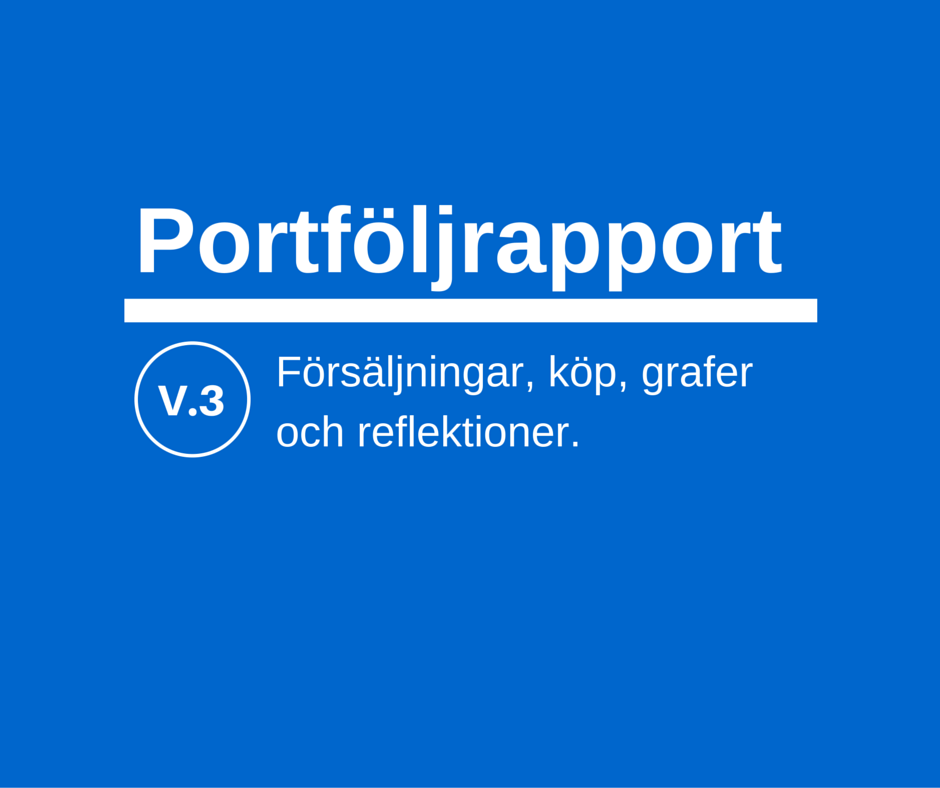 Portföljrapport vecka 3