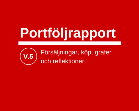 Portföljrapport vecka 5