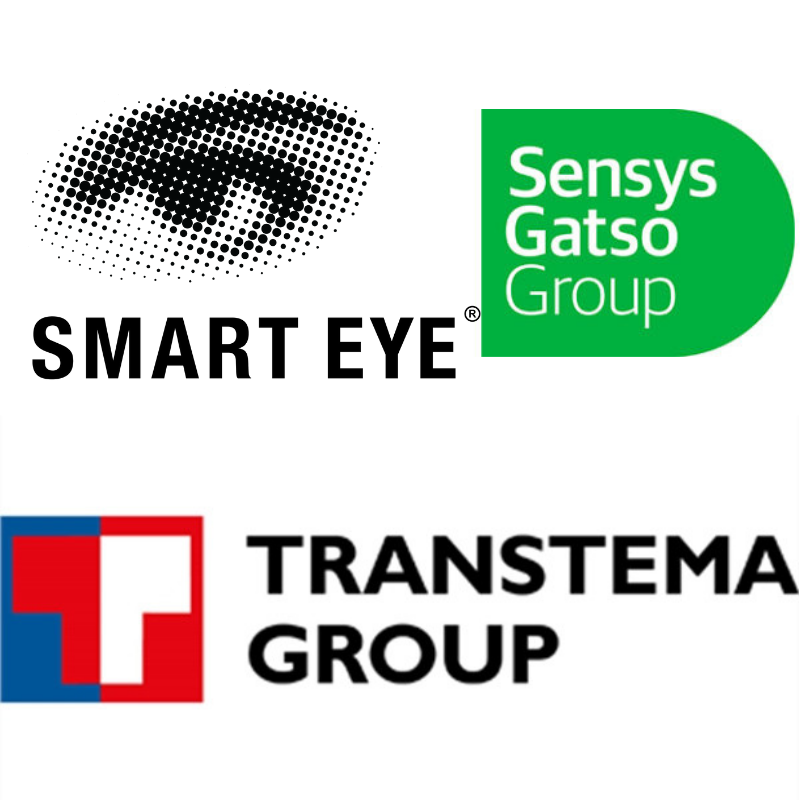 Smart Eye, Sensys Gatso Group och Transtema.