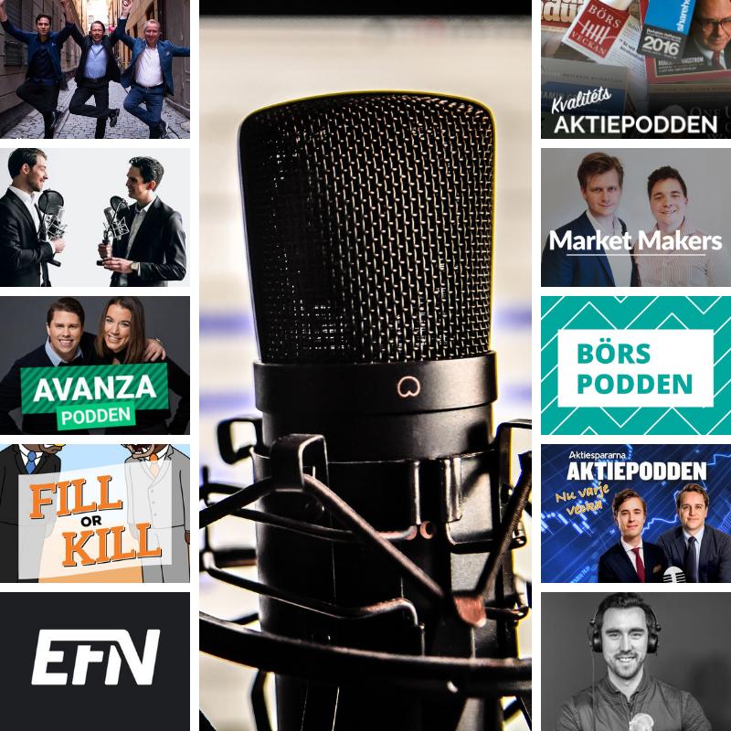 10 svenska aktiepooddar