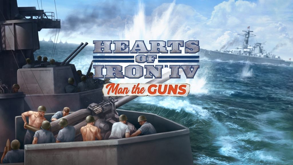 Paradox: HEARTS OF IRON IV: MAN THE GUNS släpps  28/2