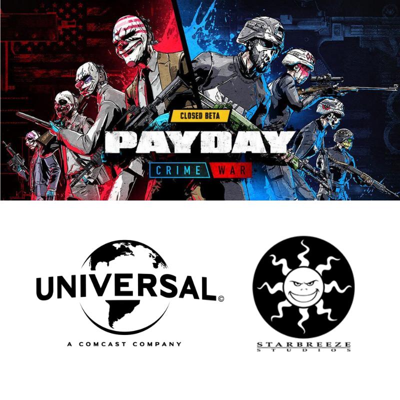 Starbreeze tecknar förlagsavtal med Universal Games and Digital Platforms avseende PAYDAY: Crime War
