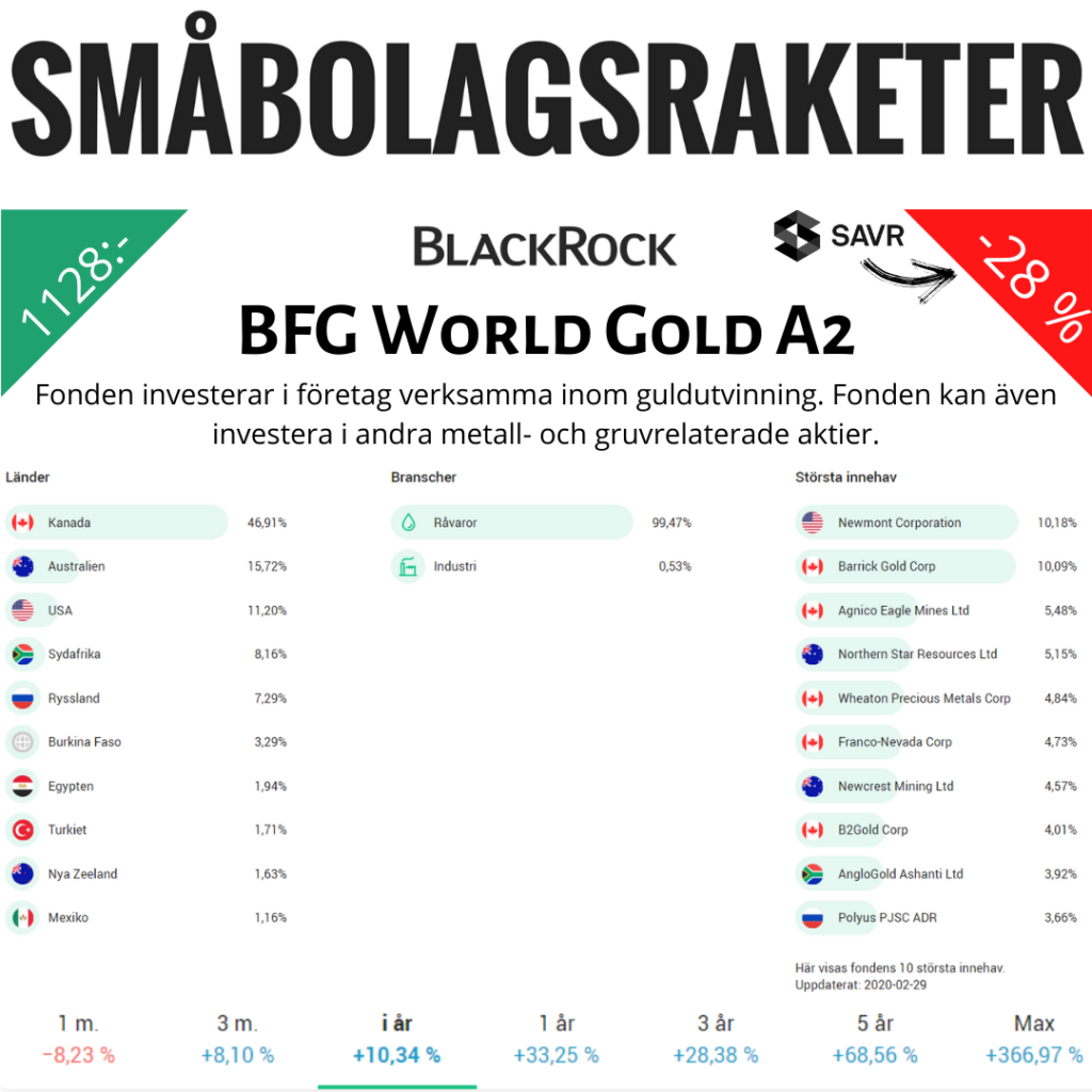 BFG World Gold A2